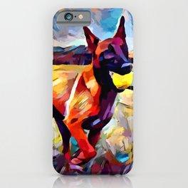 Malinois iPhone Case