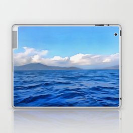 Aegean Blue Laptop & iPad Skin
