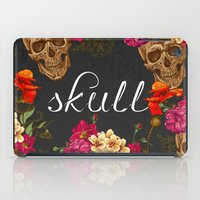wwe iPad Cases featuring Skull by eARTh