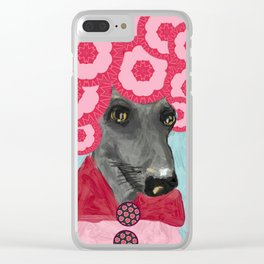 Frida in bloom Clear iPhone Case