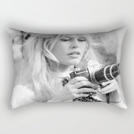brigitte - bardot - style Rectangular Pillow