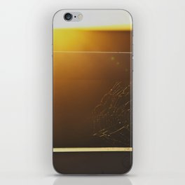 WHEN THE SUN GOES DOWN. iPhone Skin