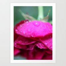 Rosie Rain Drop Art Print