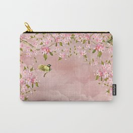 cherry blossom in the sky Carry-All Pouch