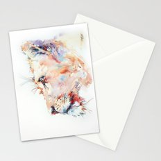I belong in Africa ... Lion Stationery Cards