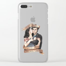Chaos Is What Killed the Dinosaurs, Darling - Heathers Clear iPhone Case