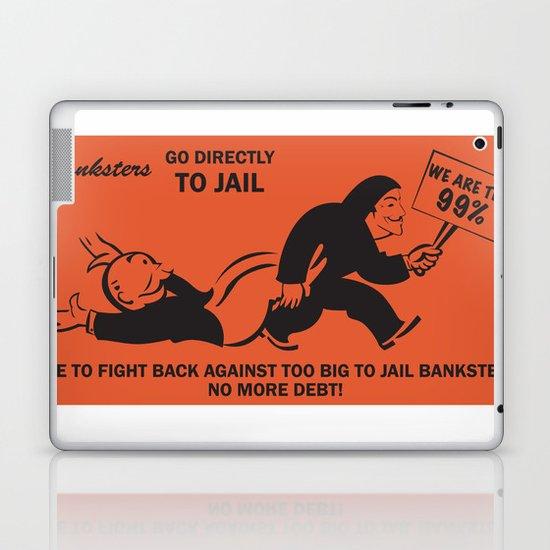 Banksters Go to Jail Laptop & iPad Skin