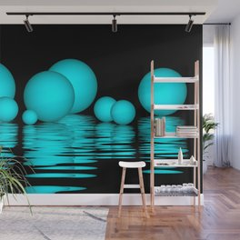spheres and reflections -103- Wall Mural