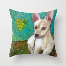 Chihuahua Love Throw Pillow