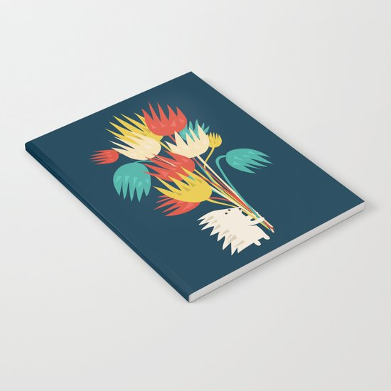 Hedgehog with flowers Notebook