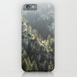 Mountain Lights - Landscape Photography iPhone Case
