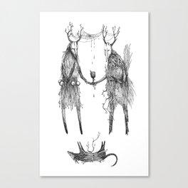 """The Arnolfini Conspiracy"" Canvas Print"