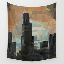 Sears at Sunrise Wall Tapestry