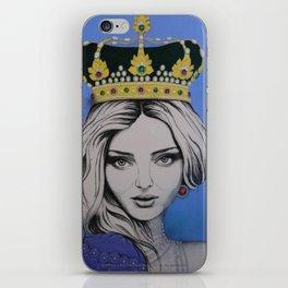 Teen Queen iPhone Skin