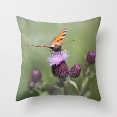 Wonderful world.... Throw Pillow
