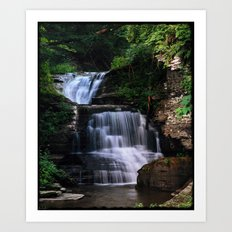 Let the Water Fall Art Print
