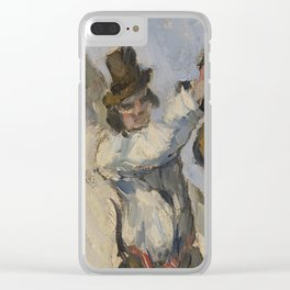 Man with a Vest Clear iPhone Case