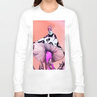 mushroom Long Sleeve T-shirts featuring Mushroom by Flannery Rollins