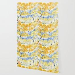 Under the Birch Forest Wallpaper