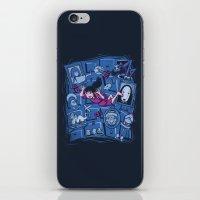 chihiro iPhone & iPod Skins featuring Chihiro in Spiritland by Hoborobo