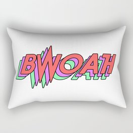 BWOAH 80's Rectangular Pillow