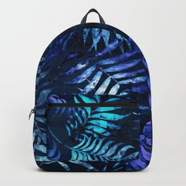 Reeya Tropical Blue Backpack