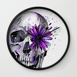 Fancy Skull Wall Clock