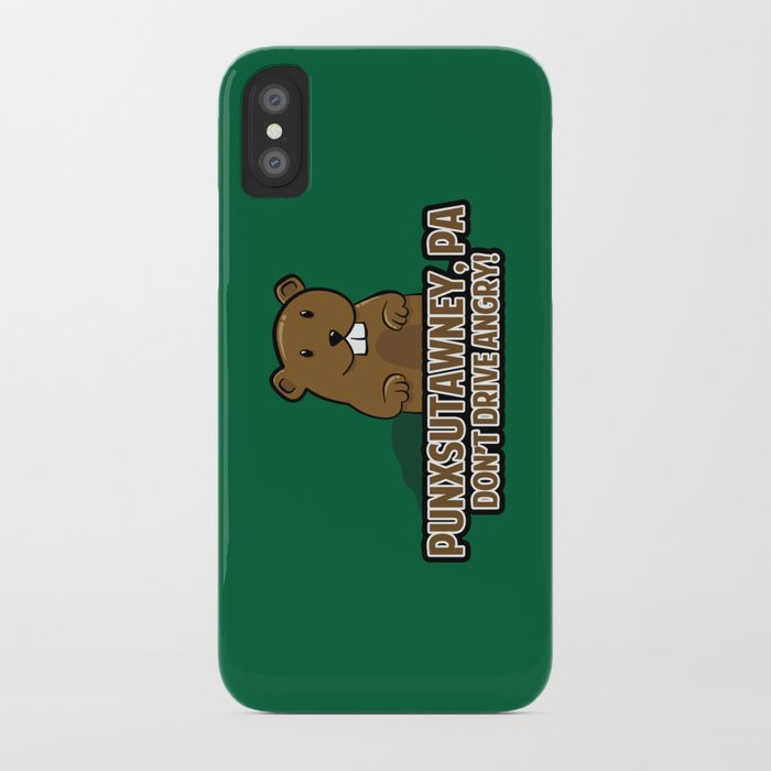 Don't Drive Angry iPhone Case