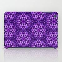 gem iPad Cases featuring purple gem by clemm