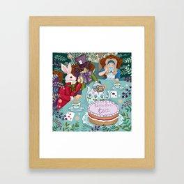 Time For Tea Framed Art Print
