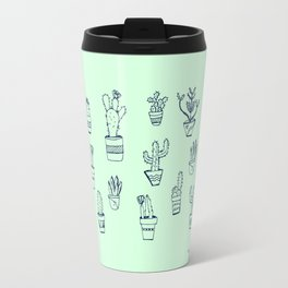Cactus and Mint Travel Mug