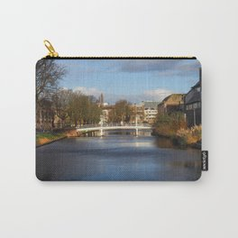Bridge and Canal in Leiden Carry-All Pouch