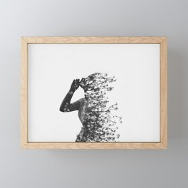 I wish I wish Framed Mini Art Print