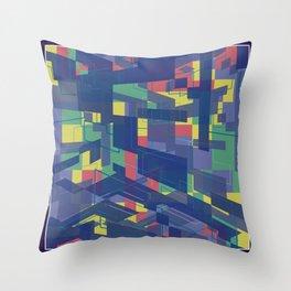 Blocklike Throw Pillow