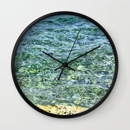 Crystal Waters II Wall Clock