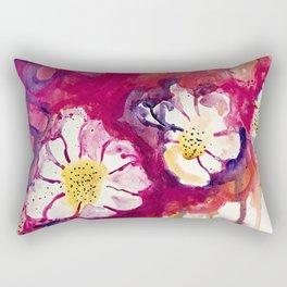 Tres Floras Rectangular Pillow