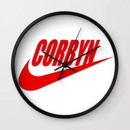 JUST CORBYN Wall Clock