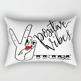 Positive Vibes Tribe Rectangular Pillow
