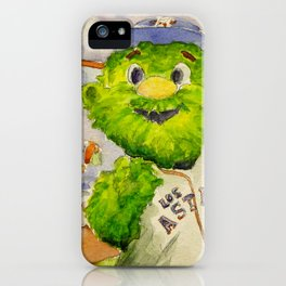 Orbit - Astros mascot iPhone Case