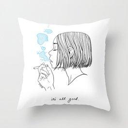 All Good Throw Pillow
