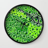 titan Wall Clocks featuring Titan by Avigur