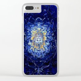 Mad Scientist Clear iPhone Case