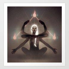 Alpha Centauri. Art Print