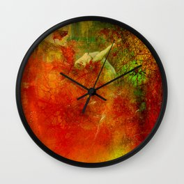The clearing of the elfs Wall Clock