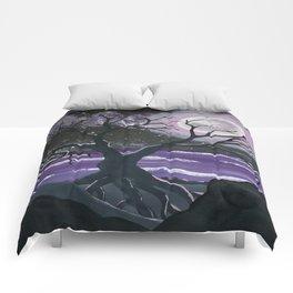 Moonlight & Mauve Comforters