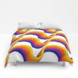 Rainbow Ribbons Comforters