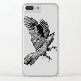 just a bird Clear iPhone Case