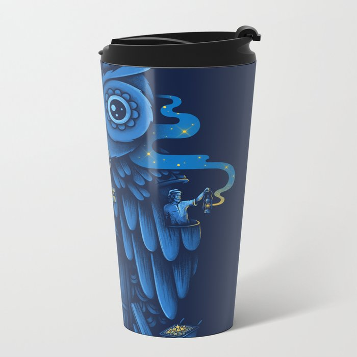 Guardian of the Night Metal Travel Mug
