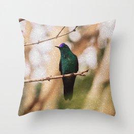 Bird - Photography Paper Effect 006 Throw Pillow