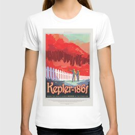 Visions of the Future: Kepler 186f T-shirt